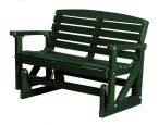 Turf Green Green Bay Outdoor Double Glider