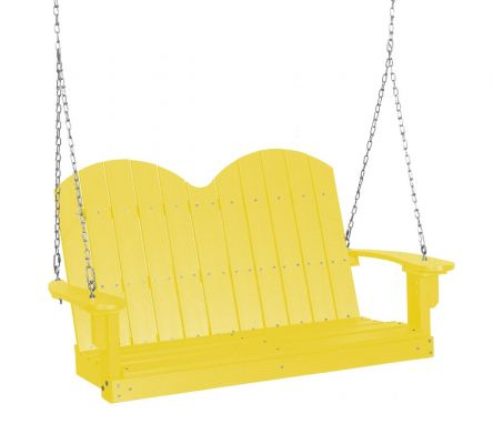 Lemon Yellow Green Bay Outdoor Swing