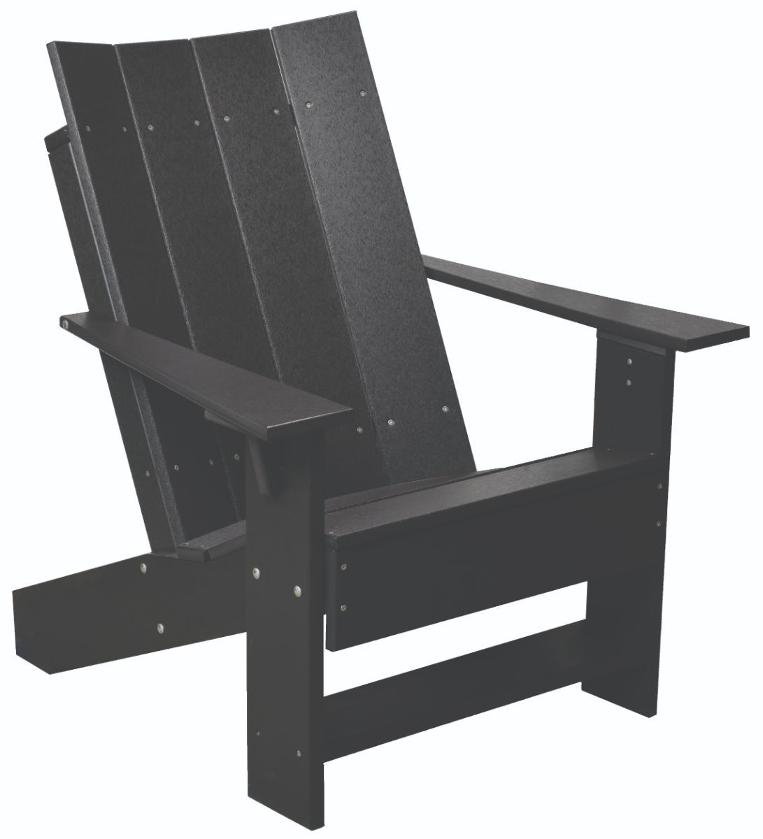 Black Mindelo Adirondack Chair