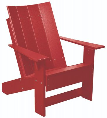 Cardinal Red Mindelo Adirondack Chair
