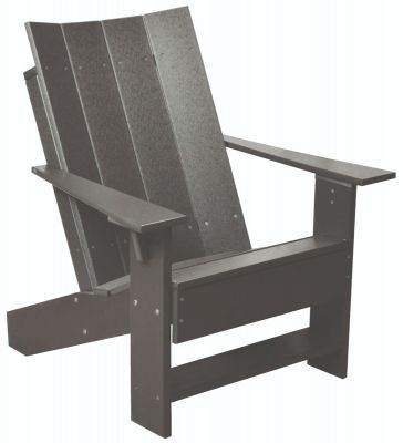 Dark Gray Mindelo Adirondack Chair