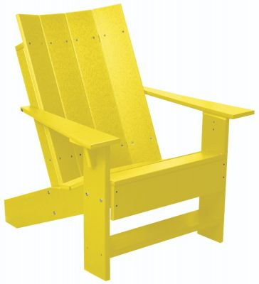 Lemon Yellow Mindelo Adirondack Chair