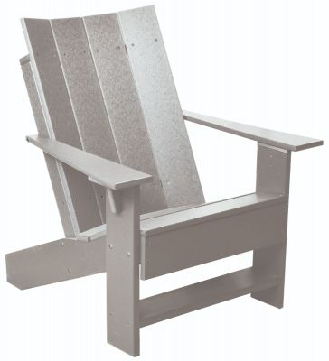 Light Gray Mindelo Adirondack Chair