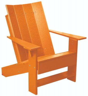 Orange Mindelo Adirondack Chair