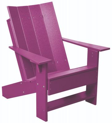 Purple Mindelo Adirondack Chair