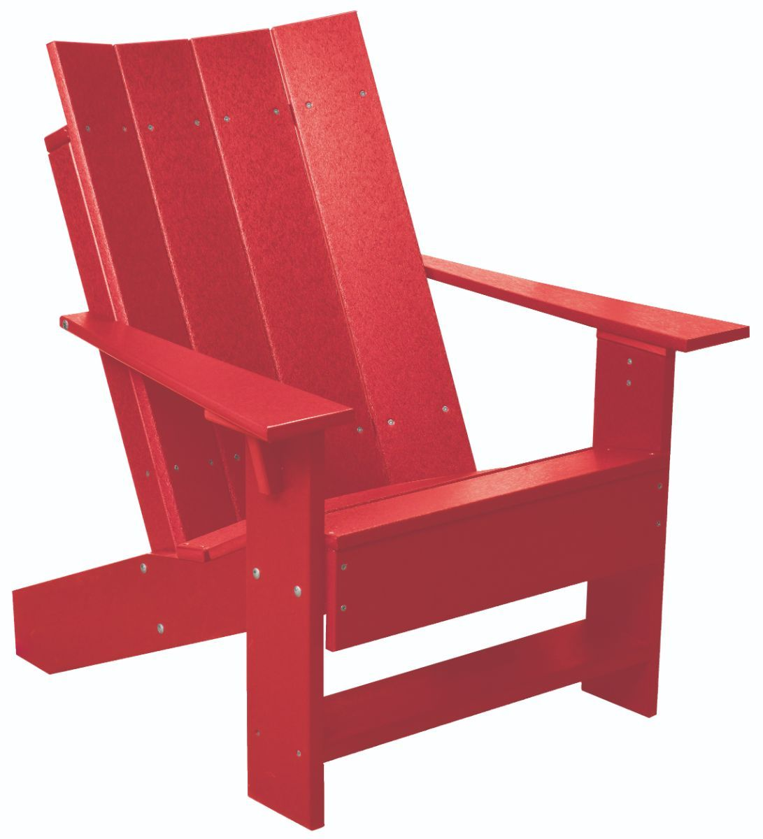 Bright Red Mindelo Adirondack Chair