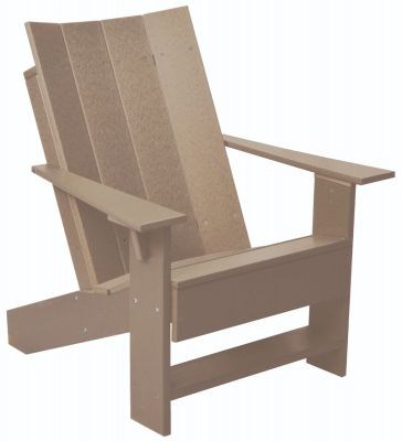 Weathered Wood Mindelo Adirondack Chair