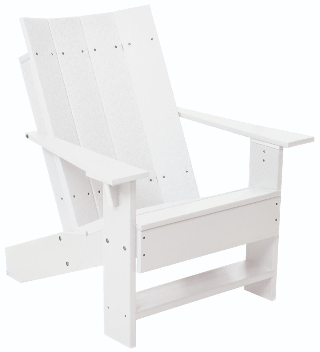 White Mindelo Adirondack Chair