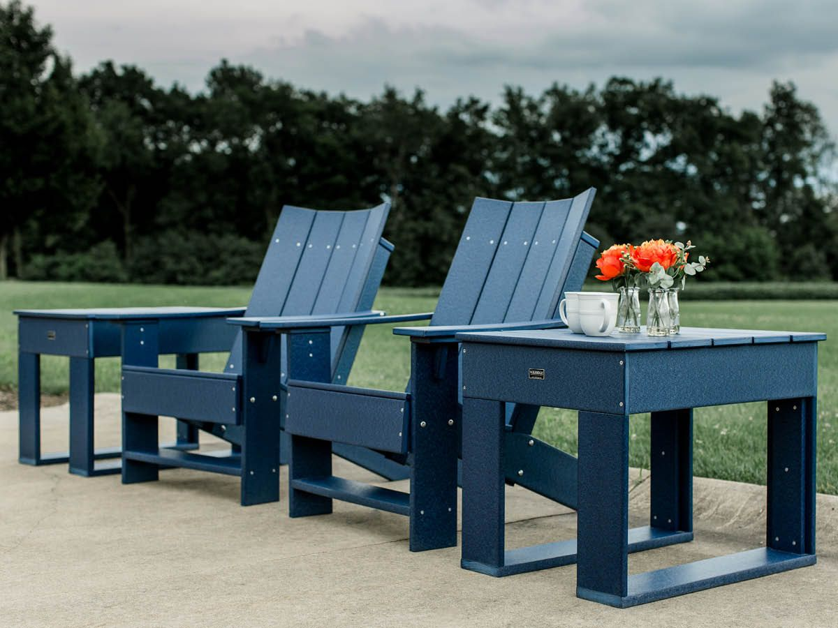 All Weather Poly Seating Set