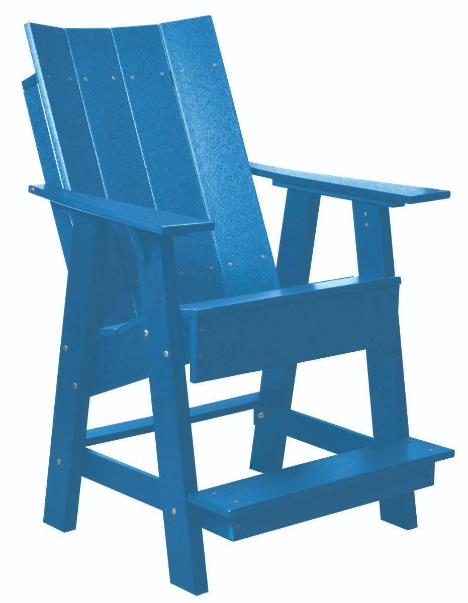 Blue Mindelo High Adirondack Chair