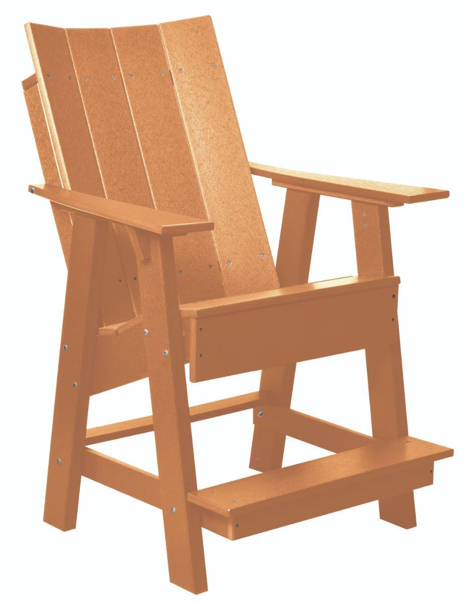 Cedar Mindelo High Adirondack Chair