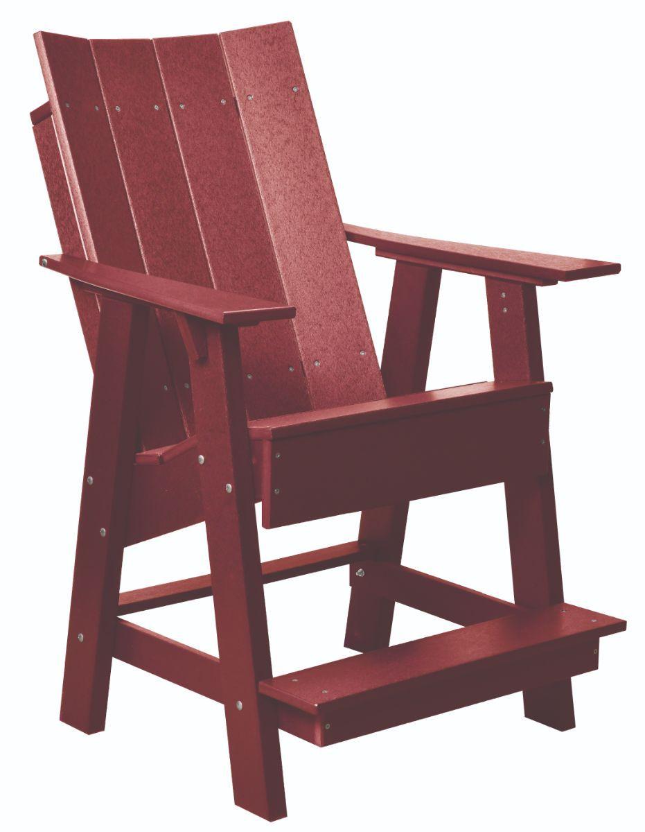 Cherry Wood Mindelo High Adirondack Chair