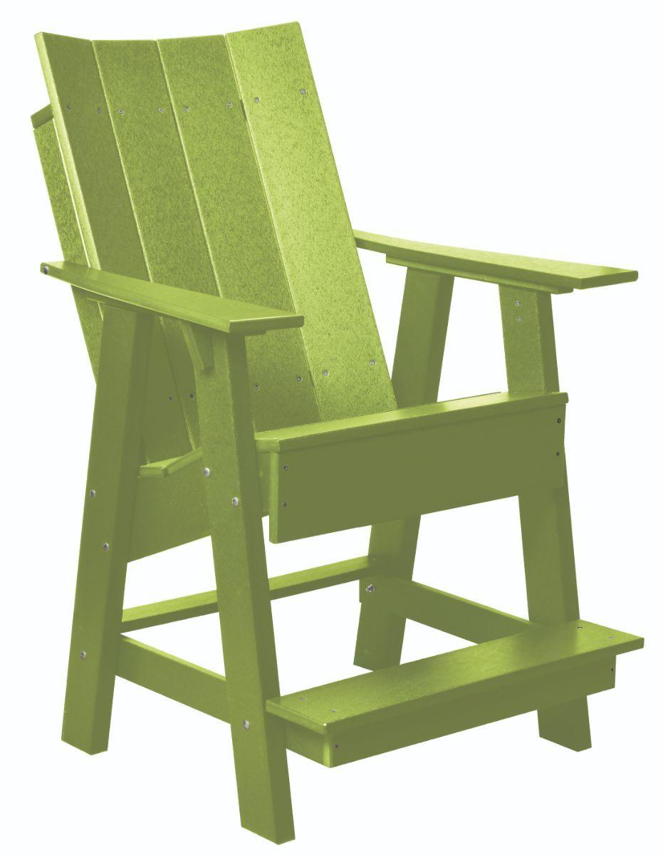 Lime Green Mindelo High Adirondack Chair