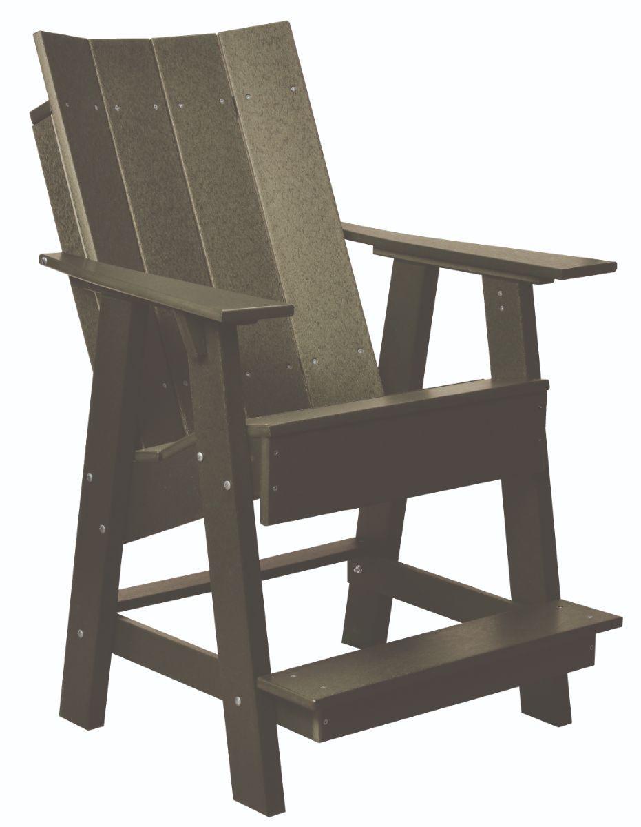 Olive Mindelo High Adirondack Chair