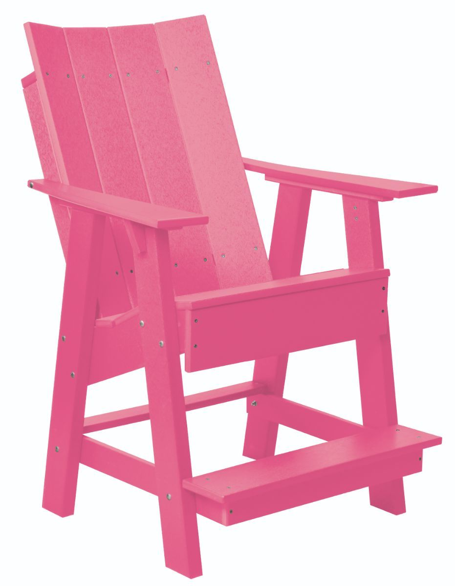 Pink Mindelo High Adirondack Chair