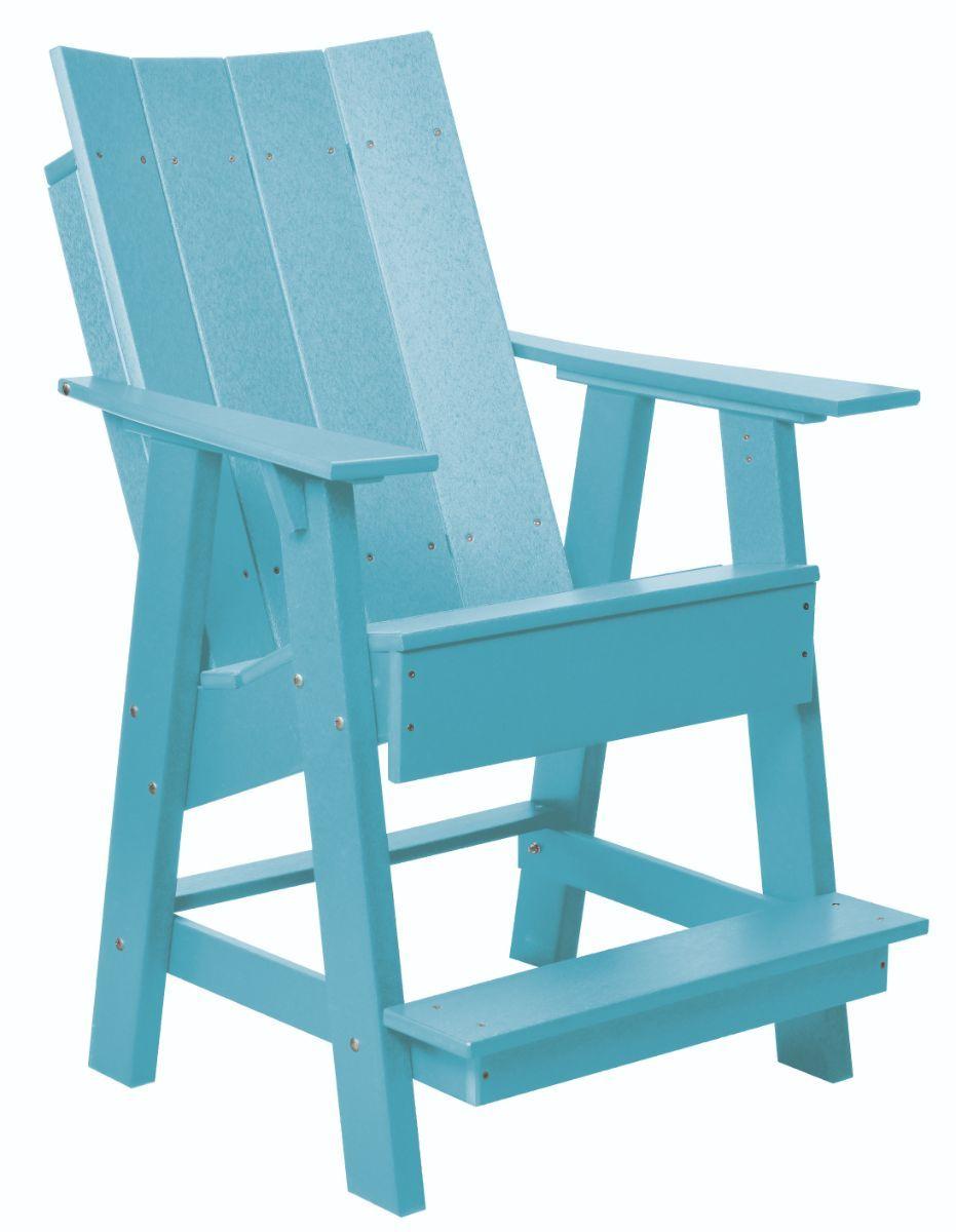 Powder Blue Mindelo High Adirondack Chair