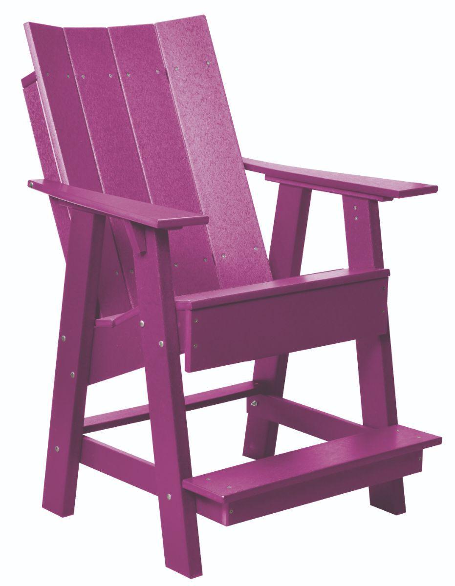 Purple Mindelo High Adirondack Chair