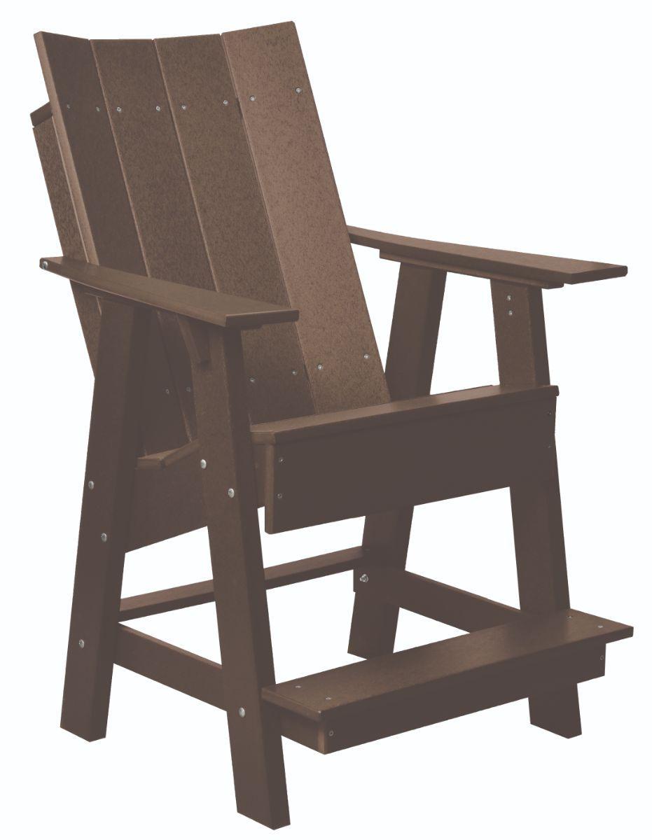 Tudor Brown Mindelo High Adirondack Chair