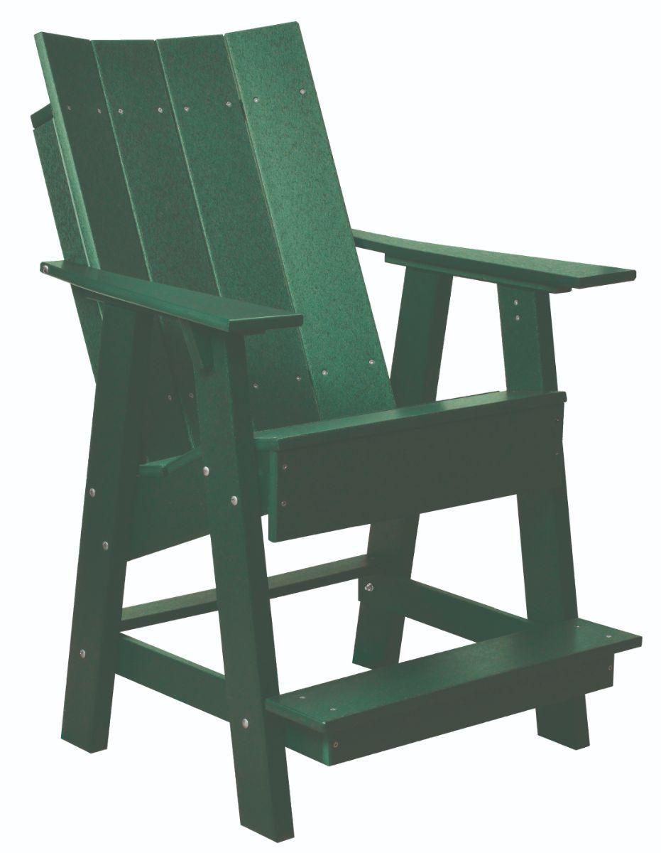 Turf Green Mindelo High Adirondack Chair