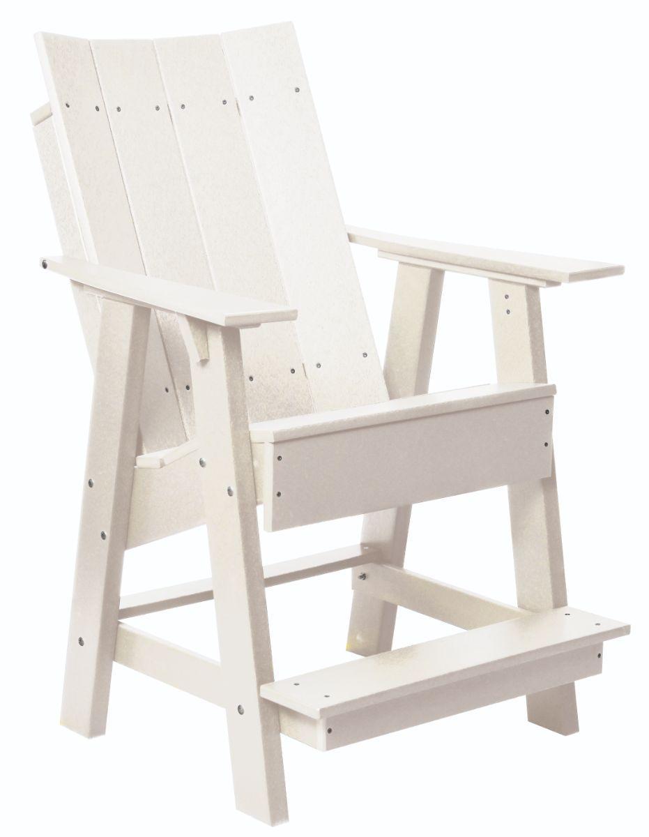 White Mindelo High Adirondack Chair
