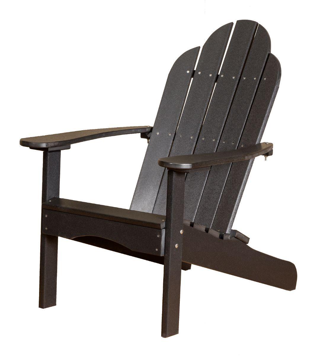 Black Odessa Adirondack Chair
