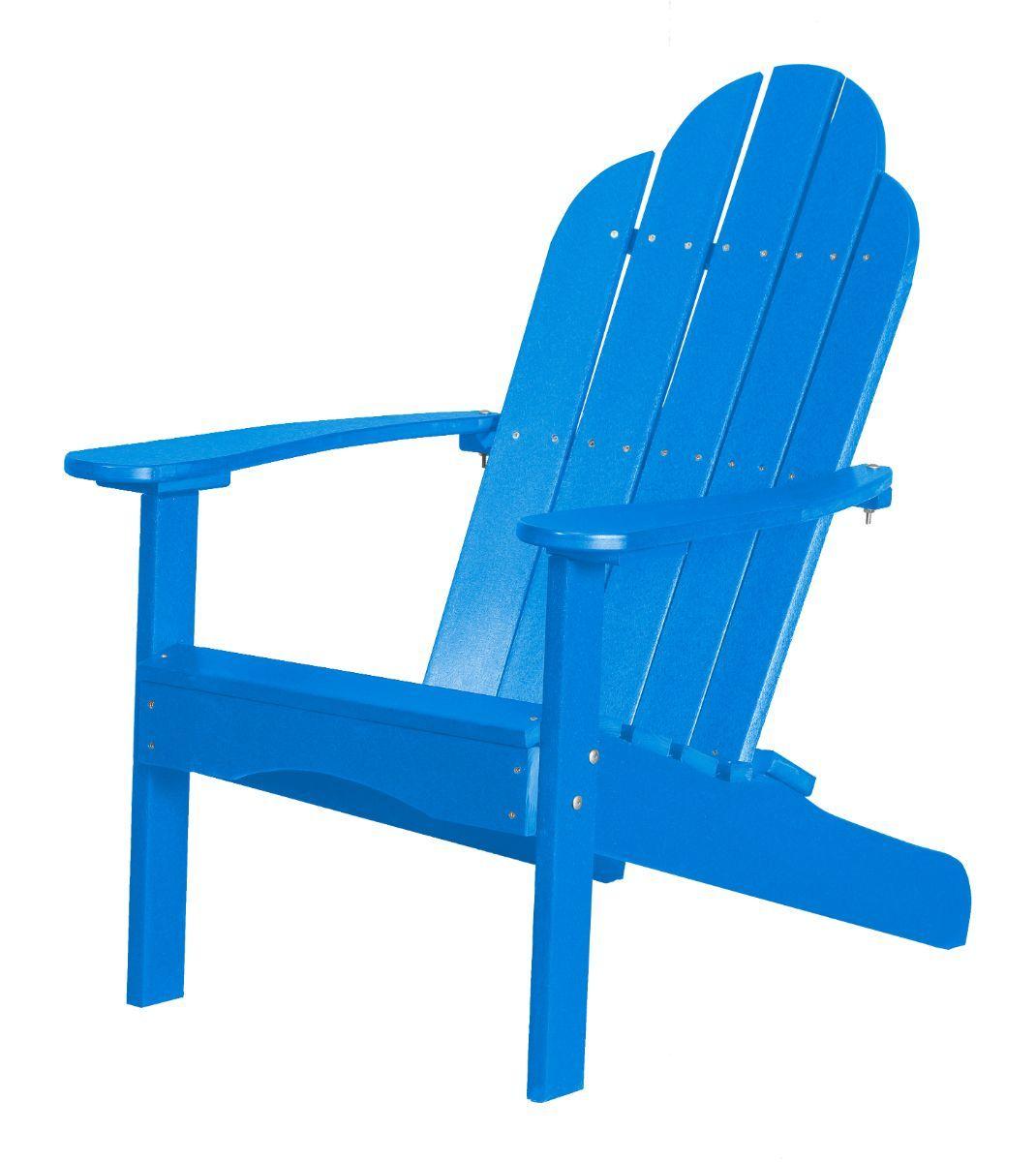 Blue Odessa Adirondack Chair