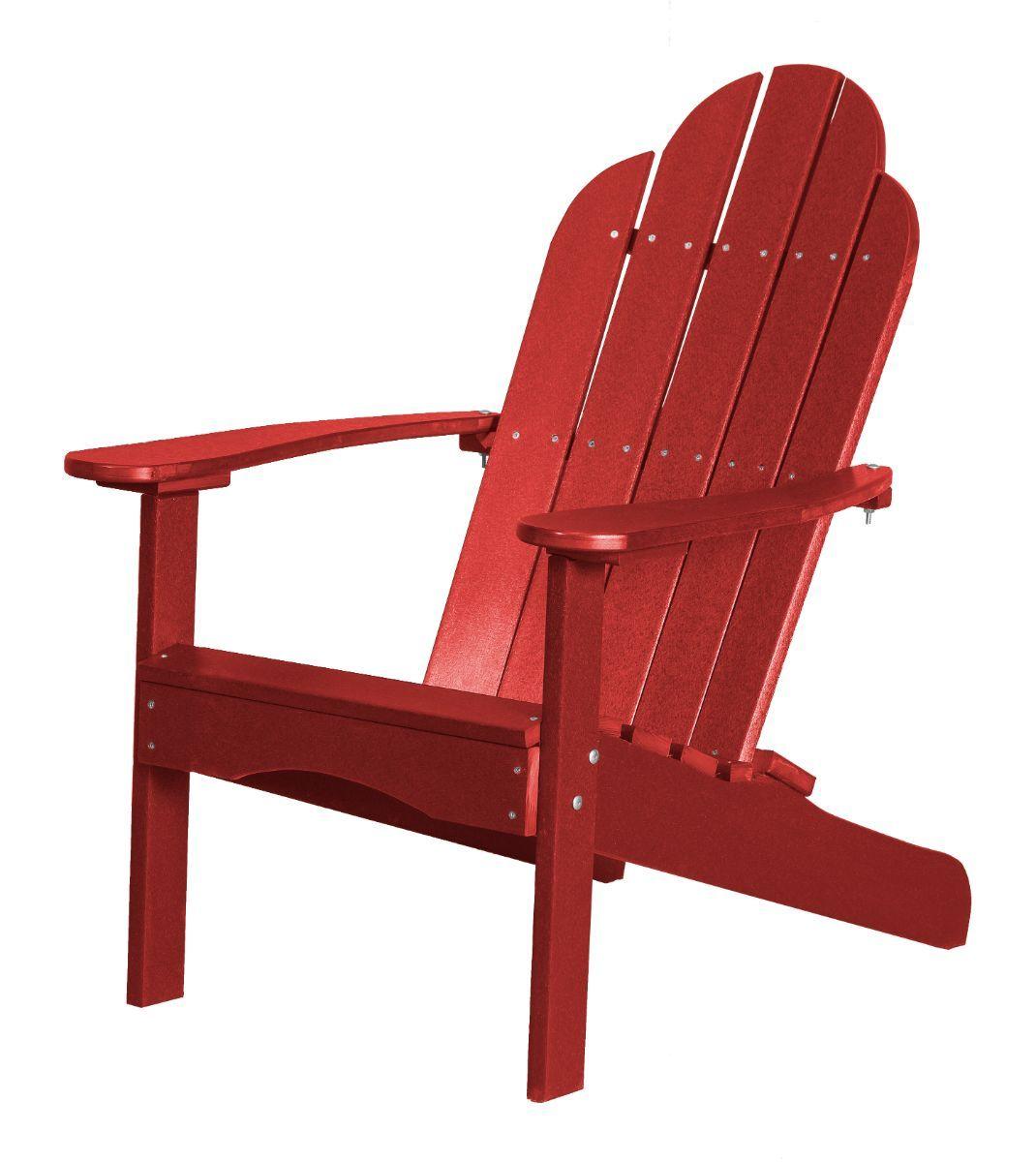 Cardinal Red Odessa Adirondack Chair