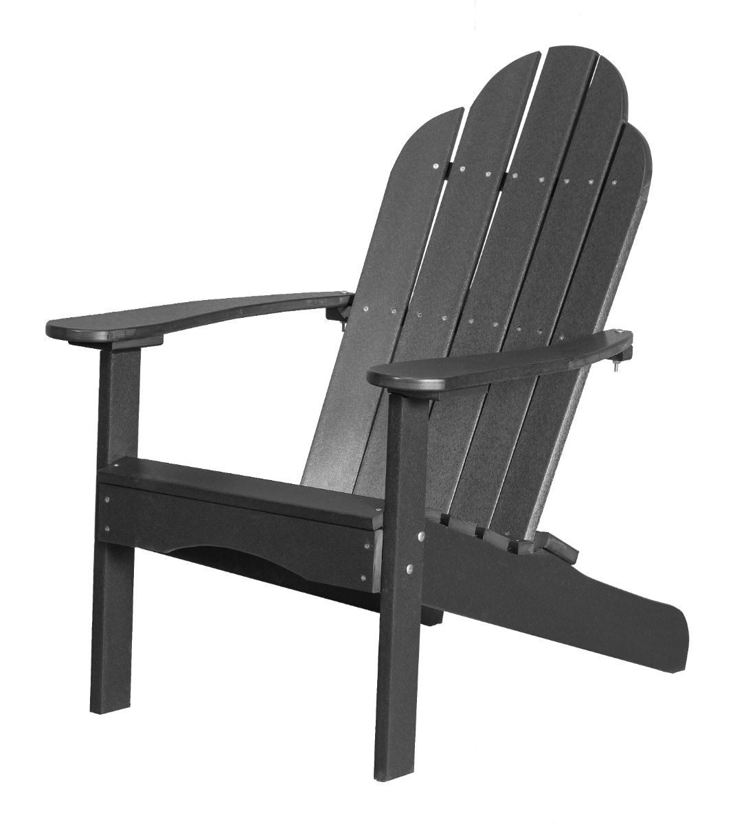 Dark Gray Odessa Adirondack Chair