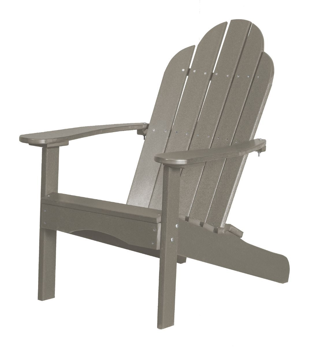 Light Gray Odessa Adirondack Chair