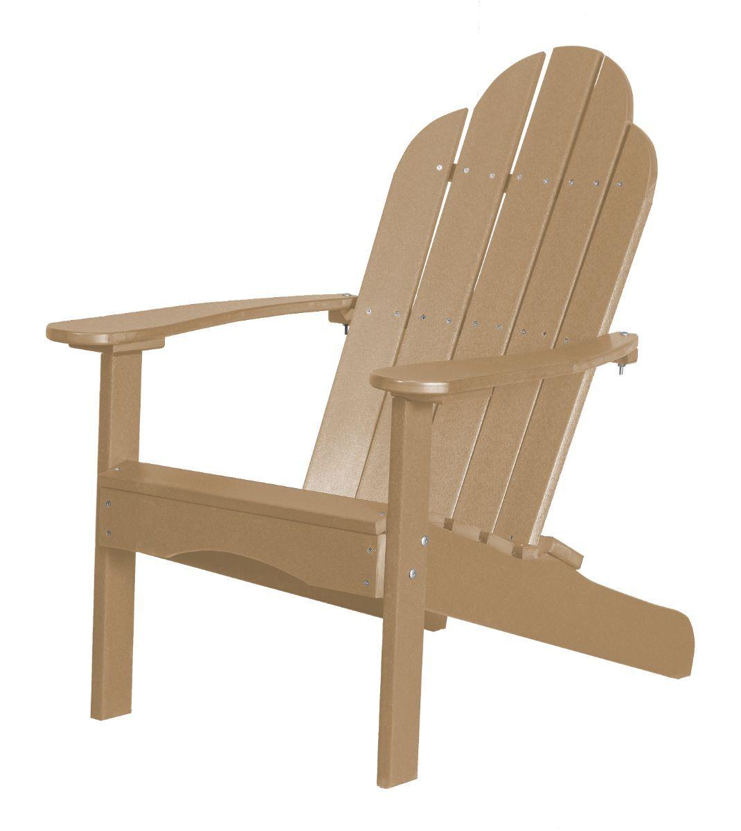 Weathered Wood Odessa Adirondack Chair