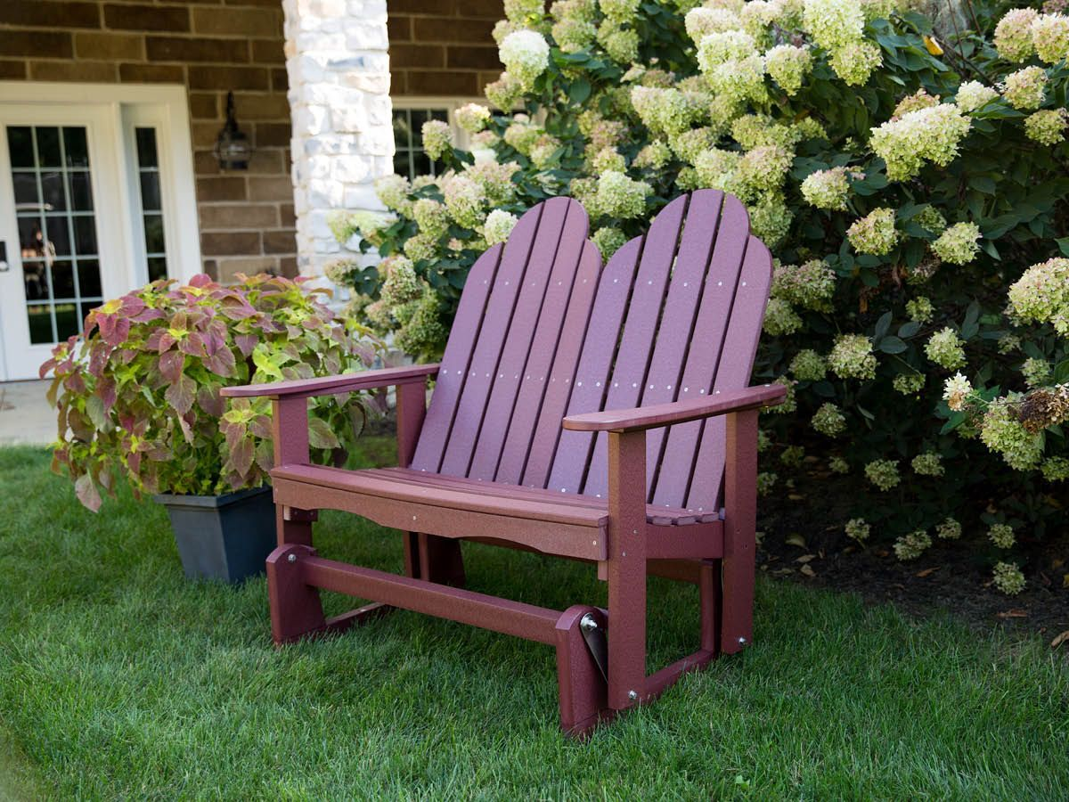 Outdoor Adirondack Double Glider