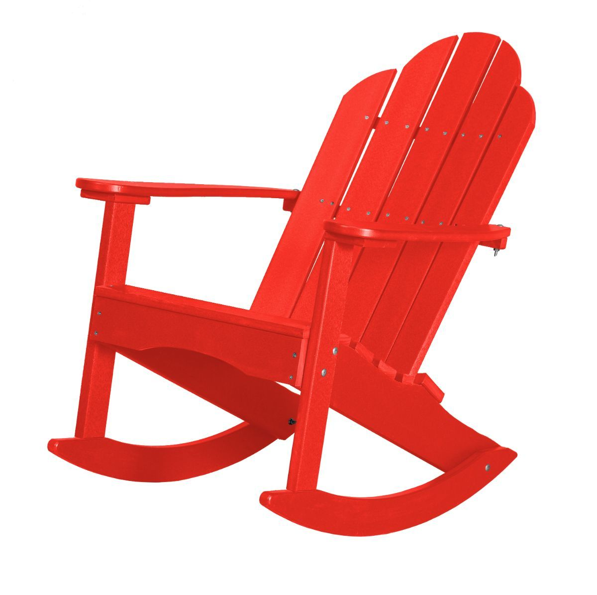 Bright Red Odessa Adirondack Rocker