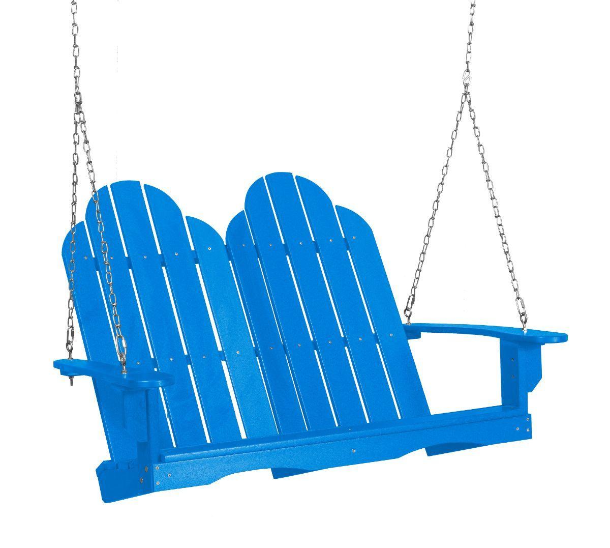 Blue Odessa Adirondack Swing