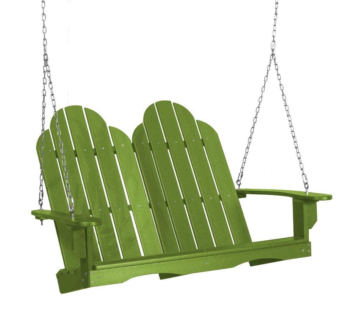 Lime Green Odessa Adirondack Swing