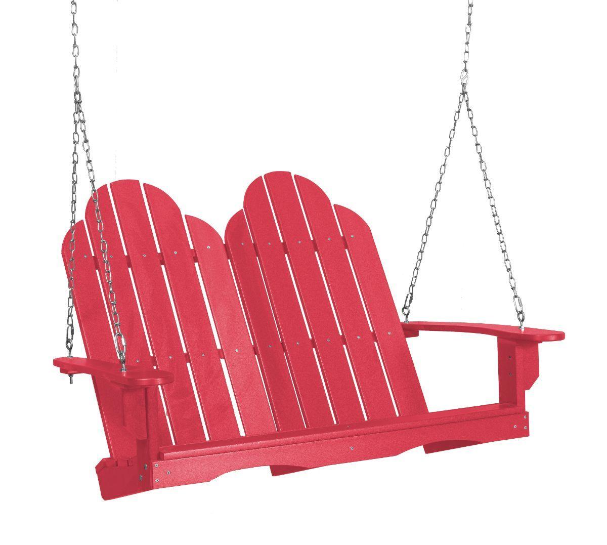 Pink Odessa Adirondack Swing