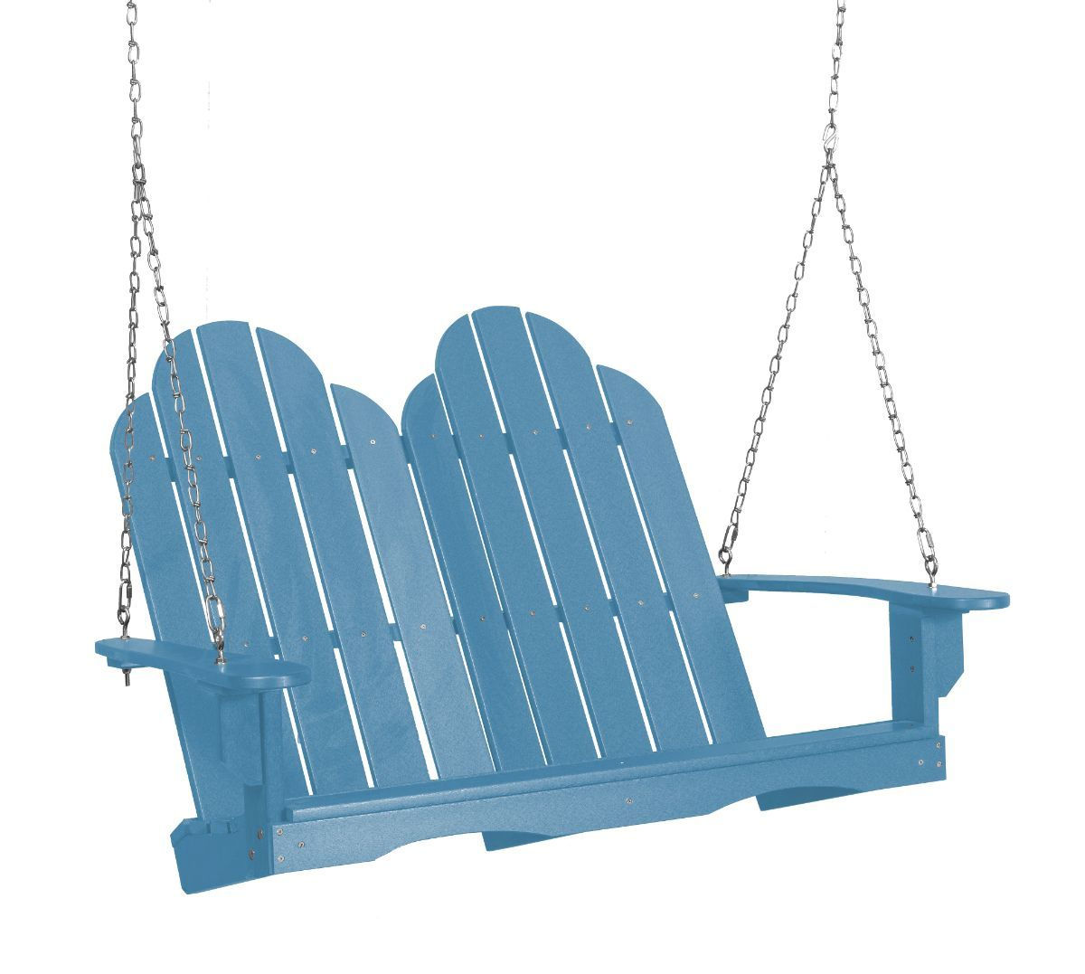 Powder Blue Odessa Adirondack Swing
