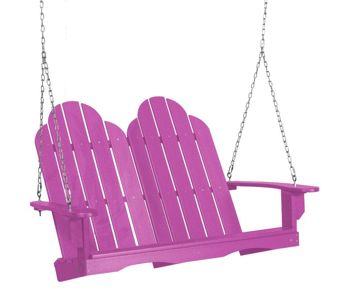 Purple Odessa Adirondack Swing