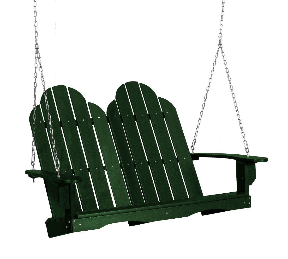 Turf Green Odessa Adirondack Swing
