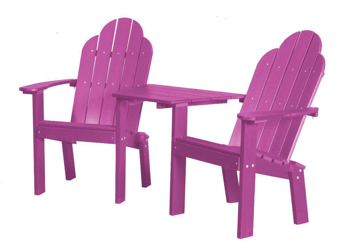 Purple Odessa Outdoor Conversation Set