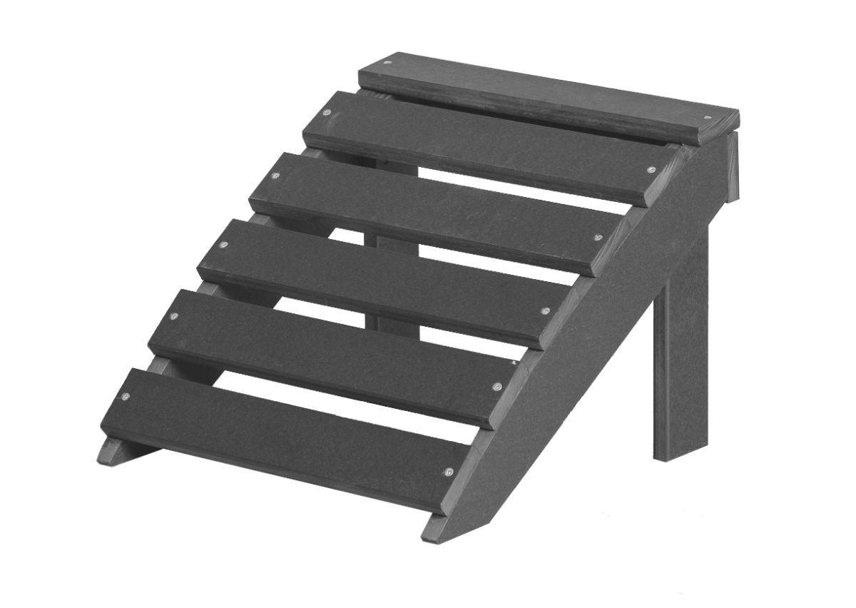 Dark Gray Odessa Outdoor Footrest