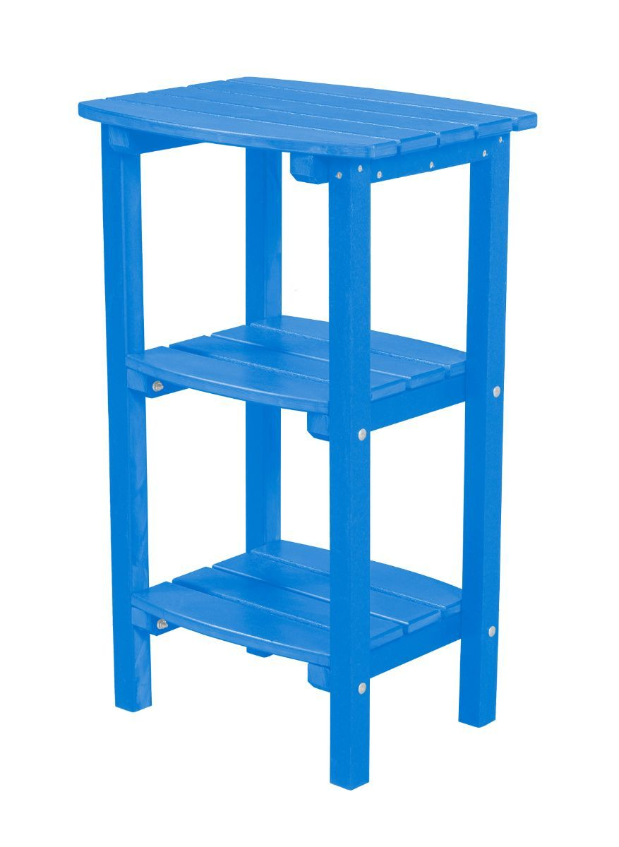 Blue Odessa Outdoor High Side Table