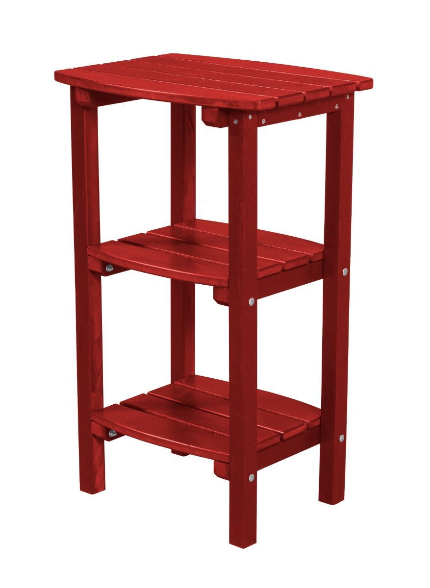 Cardinal Red Odessa Outdoor High Side Table
