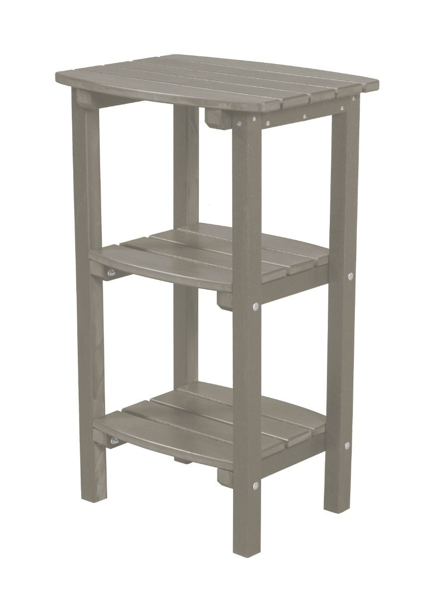 Light Gray Odessa Outdoor High Side Table
