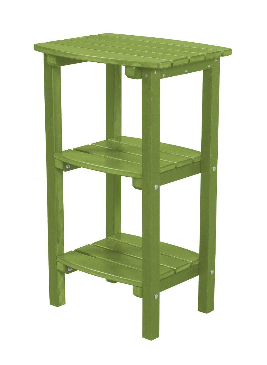 Lime Green Odessa Outdoor High Side Table