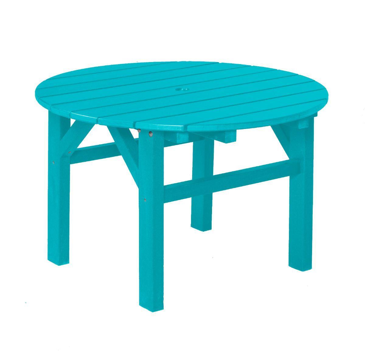 Aruba Blue Odessa Outdoor Coffee Table