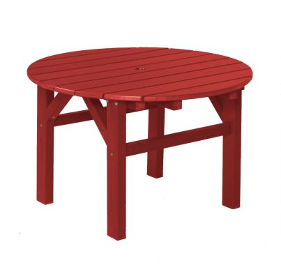 Cardinal Red Odessa Outdoor Coffee Table