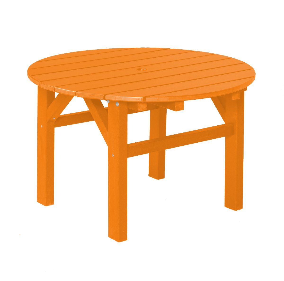 Bright Orange Odessa Outdoor Coffee Table