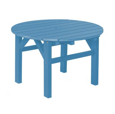 Powder Blue Odessa Outdoor Coffee Table
