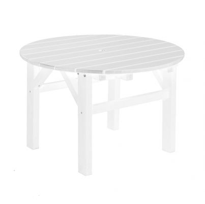 White Odessa Outdoor Coffee Table