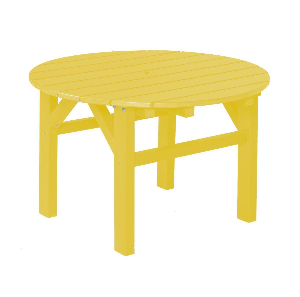 Lemon Yellow Odessa Outdoor Coffee Table